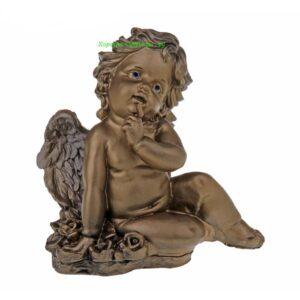 Ангел на поляне / бронза