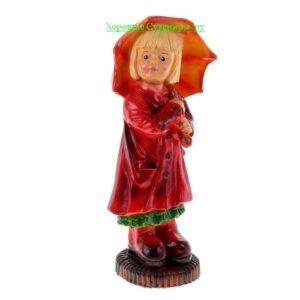 Девочка с зонтиком / цвет МИКС