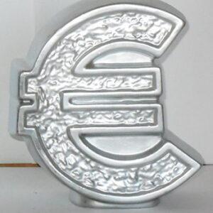 Евро копилка / серебро