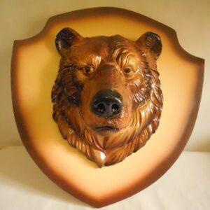 """Панно """"Медведь"""" / цветной"""