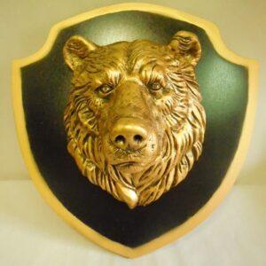 "Панно ""Медведь"" / бронза"