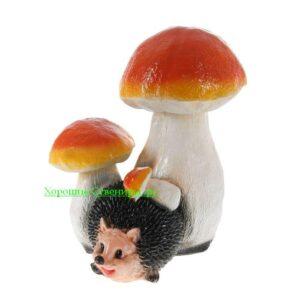 Еж под грибом ( большой )