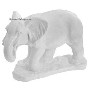 Слон большой / белый