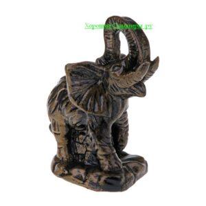 Слон боевой / бронза