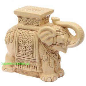 Индийский слон - подставка / состаренный