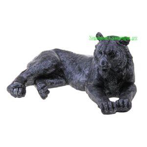 Тигр лежа / серебро